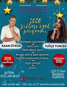 Anemon Fuar Hotel Alsancak İzmir Yılbaşı 2019