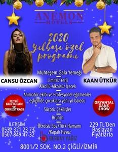 Anemon Hotel Çiğli İzmir Yılbaşı 2020