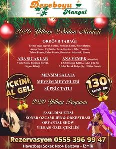 DereBoyu Et & Mangal İzmir Yılbaşı Programı 2020