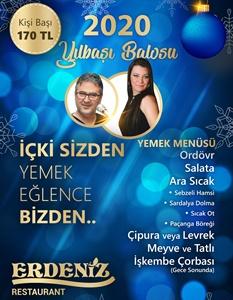 Erdeniz Restaurant İnciraltı İzmir Yılbaşı 2019