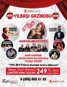 Kaya Hotel Narlıdere İzmir Yılbaşı 2019