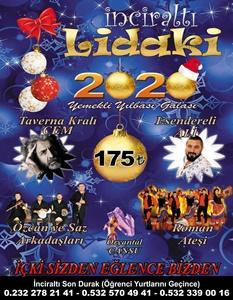Lidaki Restaurant İnciraltı İzmir Yılbaşı 2020