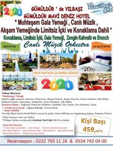 Gümüldür Mavi Deniz Otel İzmir Yılbaşı 2019