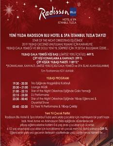Radisson Blu Hotel & Spa Tuzla İstanbul Yılbaşı 2019
