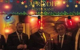 Afrodit Restaurant Kumkapı Yılbaşı Programı