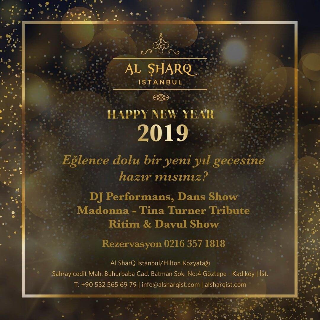 Al SharQ Live İstanbul Yılbaşı Programı 2019