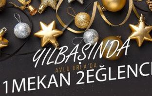 Avlu Urla İzmir Yılbaşı 2020