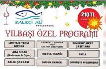 Balıkçı Ali Restaurant Adana Yılbaşı 2019