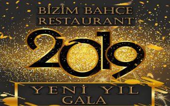 Bizim Bahçe Restaurant Gaziemir Yılbaşı 2019