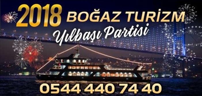 Boğaz Turizm Teknede Yılbaşı Partisi