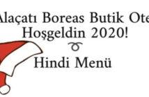 Boreas Butik Otel Alaçatı Yılbaşı Galası 2020