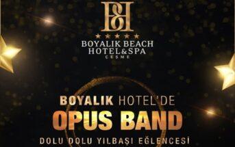 Boyalık Beach Hotel & Spa Çeşme Yılbaşı Programı 2020