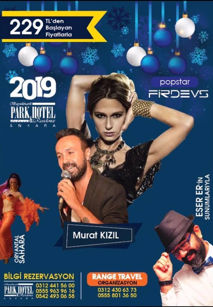Büyükhanlı Park Hotel Ankara Yılbaşı Programı 2019
