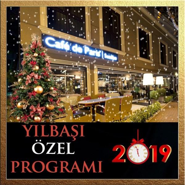 Cafe de Paris Hotel Suadiye Yılbaşı Programı 2019