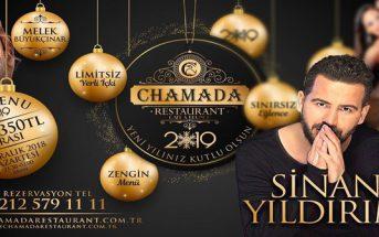 Chamada Restaurant Florya Yılbaşı Programı 2019