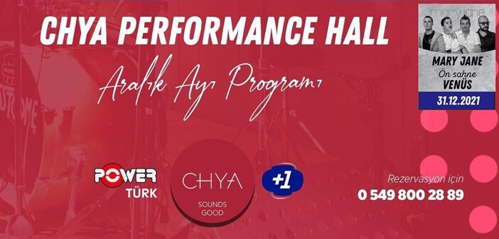 Chya Performance Hall Konya Yılbaşı Programı 2020