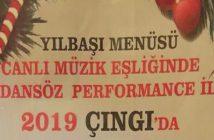 Çıngı Bar Yılbaşı Programı 2019