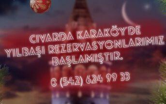 Civarda Karaköy Yılbaşı Programı 2020