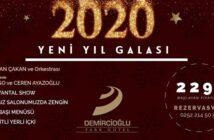 Demircioğlu Park Hotel Yılbaşı Programı 2020