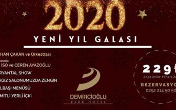 Demircioğlu Park Hotel Yılbaşı Programı 2019