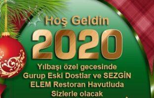 Elem Restaurant Adana Yılbaşı Programı 2020