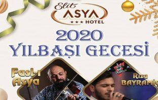 Elit Asya Hotel Balıkesir Yılbaşı 2020