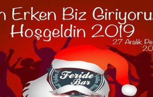 Feride Bar Taksim Yılbaşı 2019