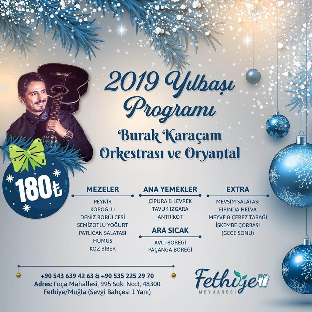 Fethiye Meyhanesi Yılbaşı Programı 2019