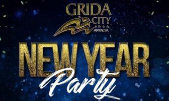 Grida City Antalya Yılbaşı