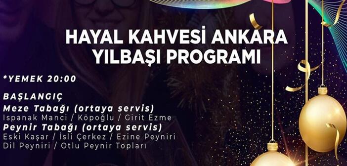 Hayal Kahvesi Ankara Yılbaşı Programı 2020