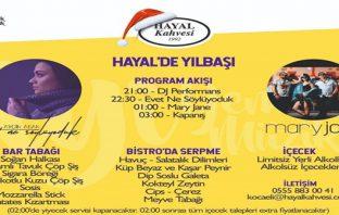 Hayal Kahvesi Kocaeli Yılbaşı Programı 2019