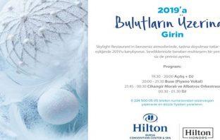 Hilton Bursa Yılbaşı Programı 2019