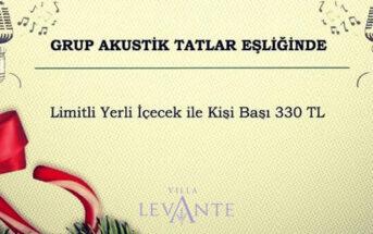 Hotel Villa Levante İzmir Yılbaşı 2020
