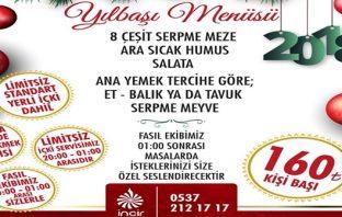 İncir Meyhanesi Adana Yılbaşı Programı