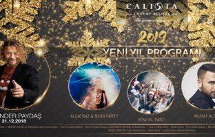 İskender Paydaş Yılbaşı Programı 2019