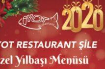 İyot Restaurant Şile Yılbaşı 2020