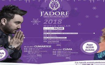 J'Adore Deluxe Hotel Yılbaşı Programı