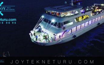 Joy Tekne Turu Teknede Yılbaşı Programı