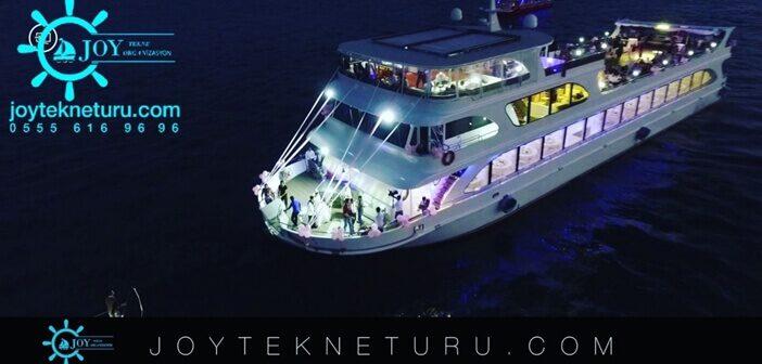 Joy Tekne Turu Teknede Yılbaşı Programı 2020