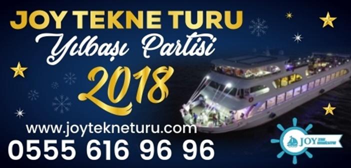 Joy Tekne Turu İstanbul Teknede Yılbaşı Partisi 2018