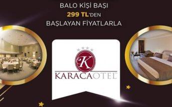 Karaca Otel Konak Yılbaşı 2020