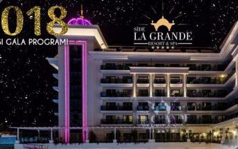 La Grande Resort & Spa Hotel Yılbaşı Programı 2018