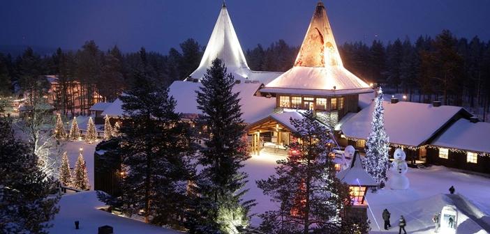 Lapland Noel Baba Yılbaşı Kutlaması