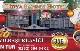 Lidya Sardes Termal Hotel Salihli Manisa Yılbaşı 2020