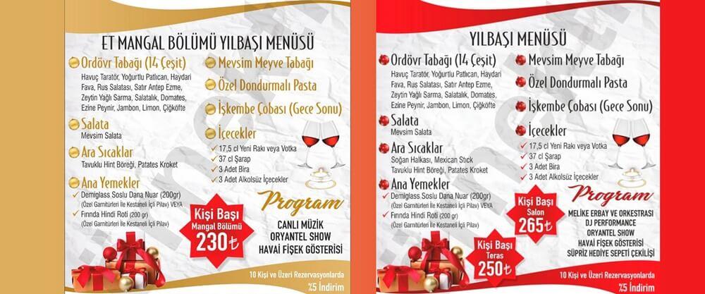 Maci's Restaurant Yılbaşı Programı