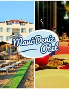 Mavi Deniz Otel Gümüldür İzmir Yılbaşı 2019