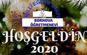 M.E.V Bornova Öğretmenevi Bayraklı Yılbaşı 2020