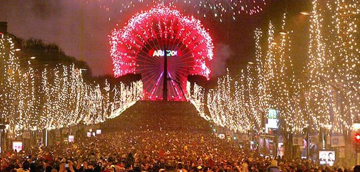 Paris Yılbaşı Kutlaması