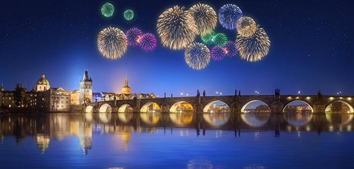 Prag Yılbaşı Kutlaması