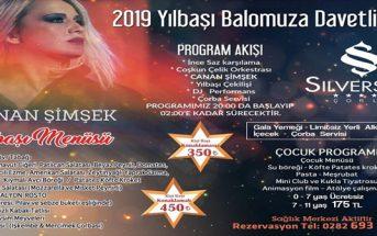 Silverside Hotel Çorlu Yılbaşı 2019